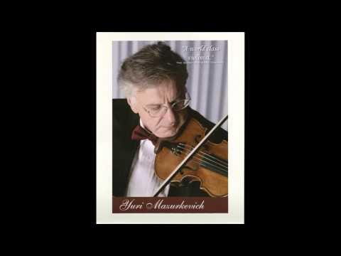 Mendelssohn Violin Concerto in E minor Op. 64 - Mvt II: Andante...