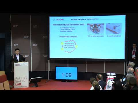Jie Zhuang   Breaking the Wall of Tumor Ablation @Falling Walls Lab 2014