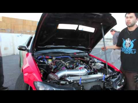 Garage Boso 2011 V8 LS3 Powered S15 Testing/ tuning before LBC Formula D
