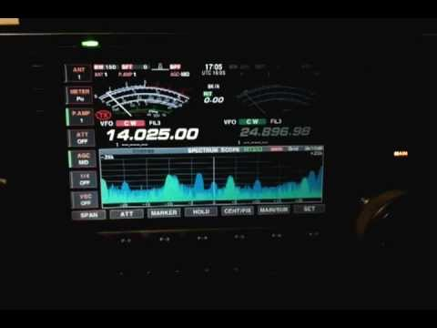 M0EDX & AE7PG14 MHZ AMATEUR RADIO HAM RADIO CW QSO