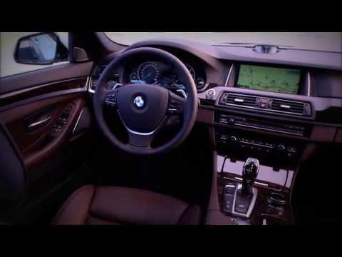 Интерьер BMW 5 серии 2013, седан, хэтчбек и универсал