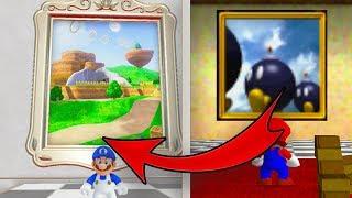 Super Mario 64 bob omb battlefield in Super Mario Odyssey [Super Mario Odyssey mod]