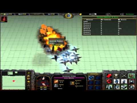 Warcraft 3 map Naruto Road to Ninja 0 8A