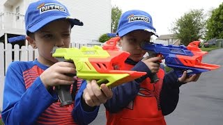 Nerf War:  Mail Time Mayhem 52 Nerf Nitro