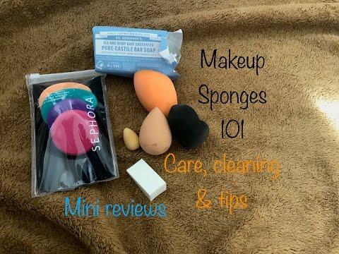 Makeup sponges 101   reviews on beauty blender/silk naturals/real techniques & more