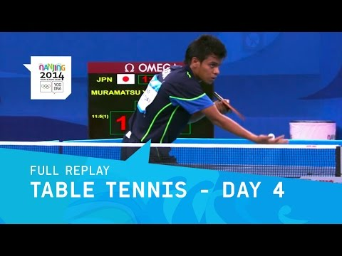 Table Tennis - Mixed Team Round 1 | Full Replay | Nanjing 2014 Youth Olympic Games