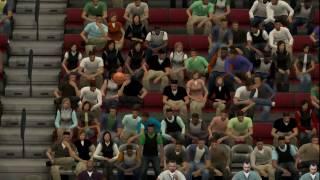 NBA 2K14 Anime Mod Midorima Half-Court Shot!