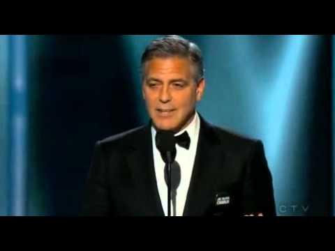 George Clooney - DeMille Award | Golden Globe 2015