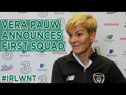VERA PAUW INTERVIEW | #IRLWNT Manager Vera Pauw on her first squad selection