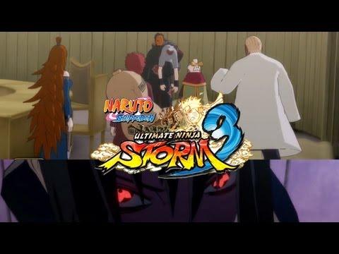 Sasuke vs. Five Kage Naruto Shippuden Ultimate Ninja Storm 3...