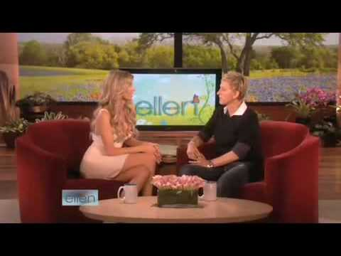 Marisa Miller Talks Bras, Swimsuits and Self-Tanning! on Ellen