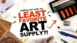 WHY?! ANYTHING BUT THIS!! | My Least Favorite Art Supply | Mystery Art Box | ArtSnacks Unboxing