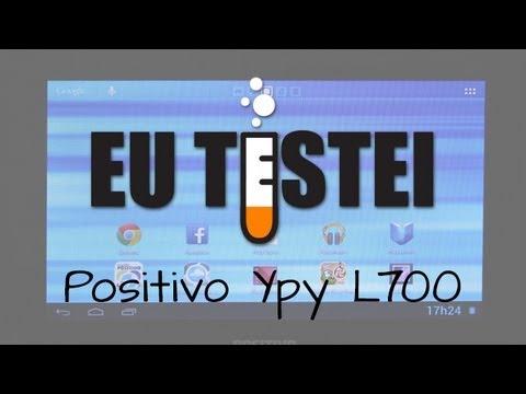 Tablet Positivo Ypy L700 - Resenha Brasil