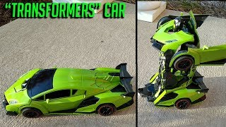 R/C Transformer Car Robot