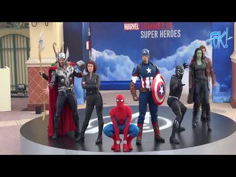 Spectaculaire opening Marvel Superhelden Zomer in Disneyland Paris