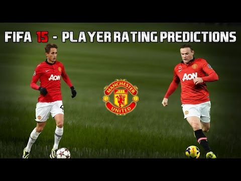 Fifa 15 | Manchester United - Player Rating Predictions | feat. Rooney, Januzaj, RVP & more!