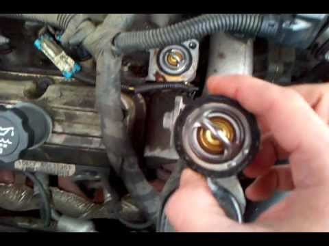 REPLACE thermostat 2004 Pontiac Grand Prix