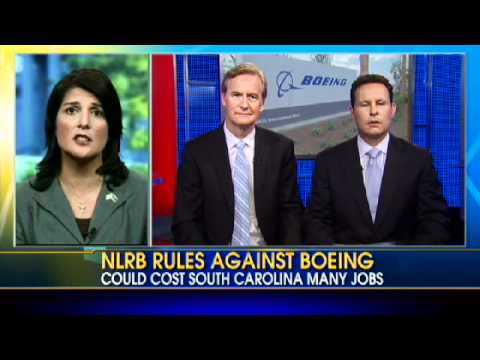 Haley Responds to Labor Ruling Against Boeing