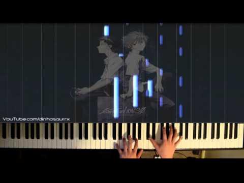 「Evangelion: 3.0」ED - Sakura Nagashi 桜流し~ (piano Solo) // Hikaru Utada