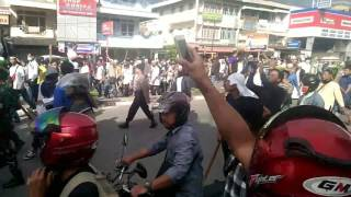 Aksi Penolakan Gawai Dayak & Bela Ulama di Pontianak
