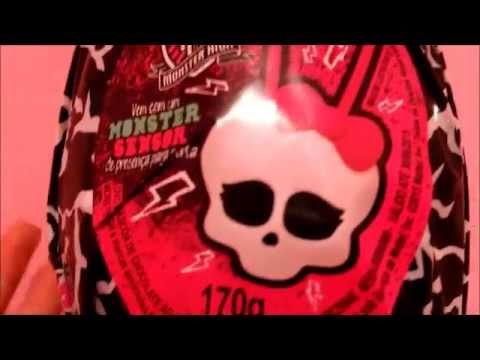 Ovo de páscoa Monster High 2015 Sensor de Porta