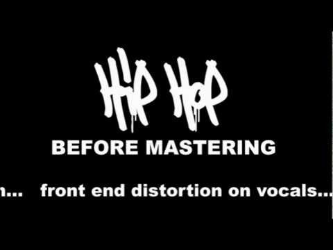 Audio Mastering - Before and After