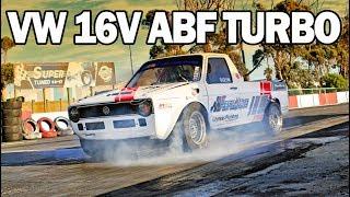 Volkswagen Caddy ABF Turbo Drag Car
