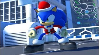 Santa Sonic Character Mod in Sonic Forces