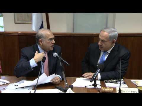 Ángel Gurría OECD Sec Gen Presents the OECD Economic Survey for Israel 2013