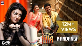 Jilla - Jilla Movie Songs - Kandaangi Kandaangi song - Mohanlal, Kajal, Vijay