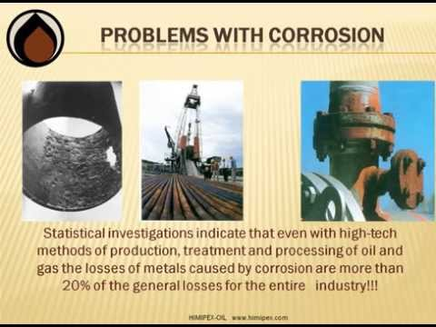 Corrosion protection oil and gas, oil pipeline corrosion protection, downhole corrosion protection,