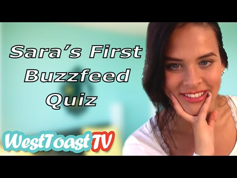 SARA'S FIRST BUZZFEED QUIZ!!!