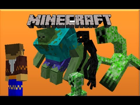 Minecraft Mod Showcase: Mutant Creatures Mod (1.4.5)