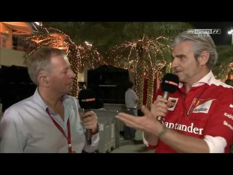 2016 Bahrain Post Race: Maurizio Arrivabene