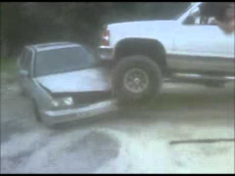 Redneck car crusher redneck fun
