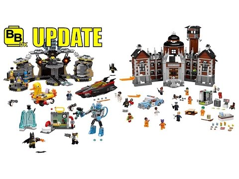 LEGO THE BATMAN MOVIE MORE SET IMAGES!! NEWS UPDATE