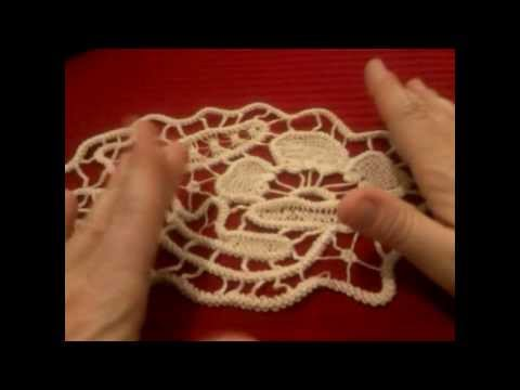 Crocheting Vs Macrame : Cordoncino Uncinetto Macram Rumeno Romanian Point Lace Cord Tutorial ...