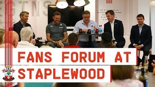 SOUTHAMPTON FANS' FORUM | A special night at Staplewood with the boss and the board!
