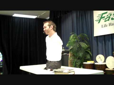 Nick Vujicic In Dallas-goals- Knowing What You Want And Interview video