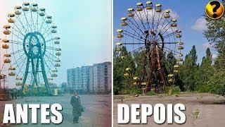 CHERNOBYL - ANTES E O DEPOIS