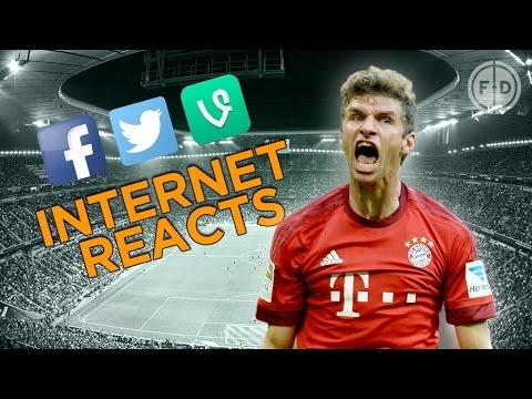 Bayern Munich 5-1 Arsenal | Internet Reacts