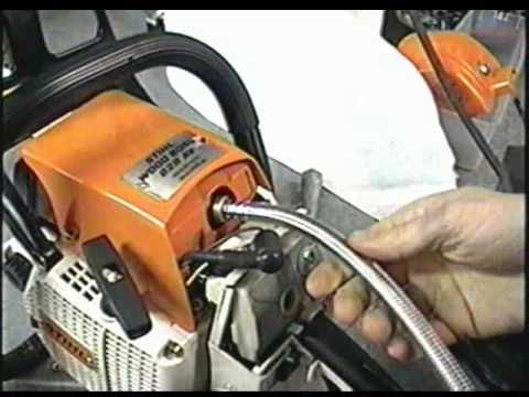 Stihl 028av Chainsaw  CompressionTest