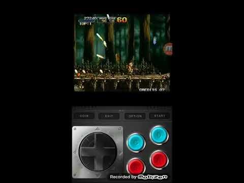 Android Mame Emulator Metal Slug 3 Play - 안드로이드 마메 에뮬 메탈 슬러그 3 플레이
