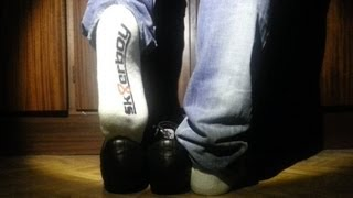 Bikkembergs Black , sk8erboy socks and jeans