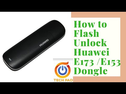 How to Flash Unlock Huawei E173 /E153 Dongle