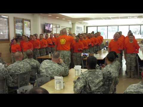 WOCS Class 15-01 Meerkats First Class Song