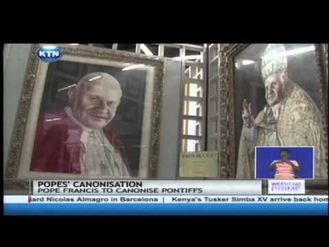 Canonization of two former popes and the memories