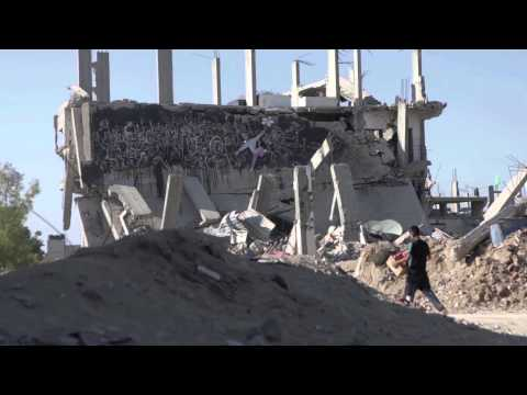 A picture of destruction: Syria and Gaza
