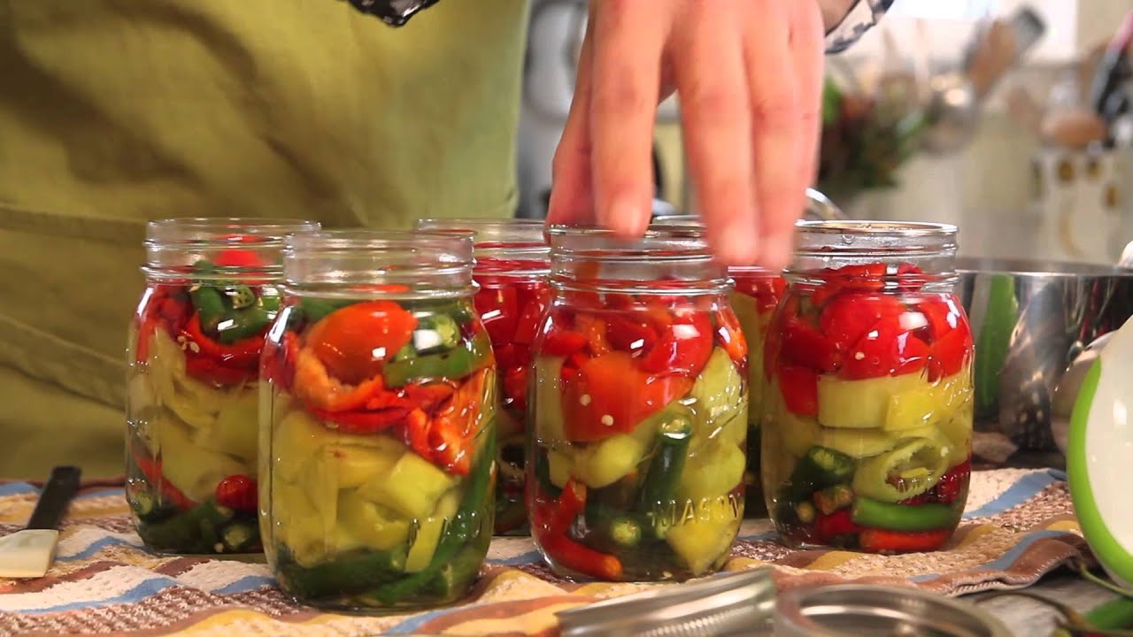 Canning Garden Vegetables At Home With P Allen Smith