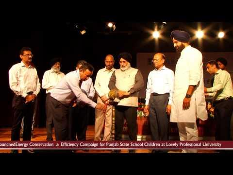 Minister Punjab, S Bikram Singh Majithia & Education Minister Dr. Daljit Singh Cheema at LPU